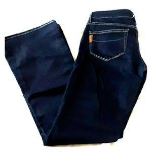Paige dark wash petite jeans